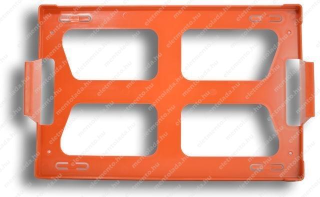 Elsősegély-felszerelés tartó - fali keret / B, I, II kategóriákhoz /
