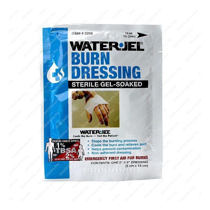 WaterJel - Kötszer égésre, 5 x 15 cm