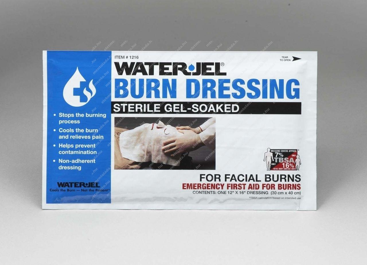WaterJel - Kötszer égésre arcra, 30 x 40 cm
