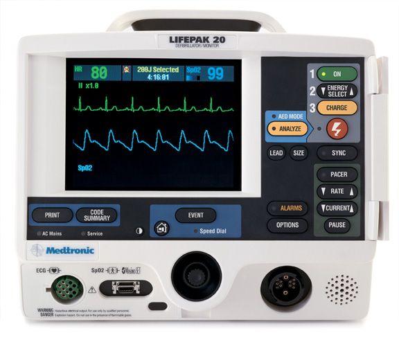 LIFEPAK 20e bsc defibrillátor - monitor