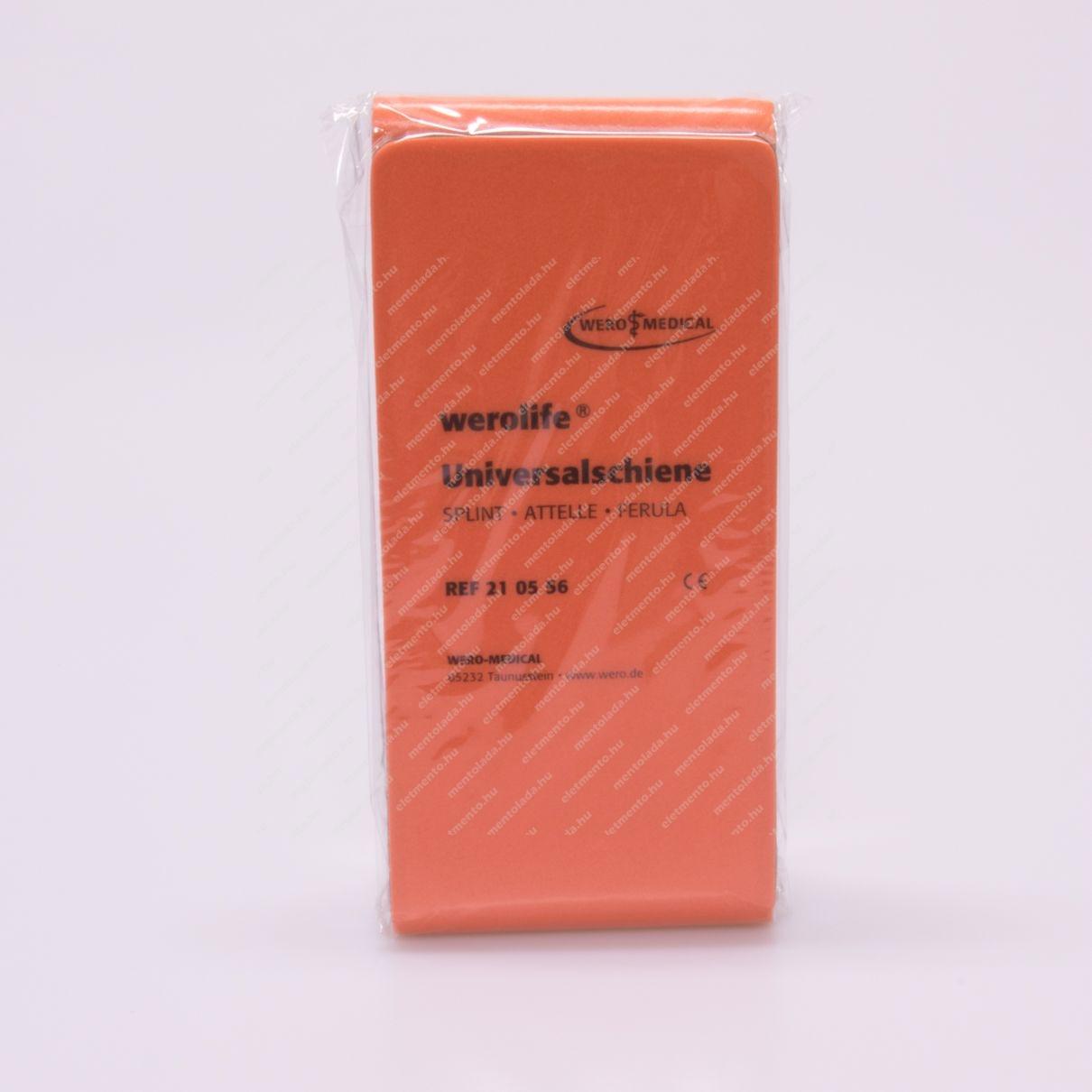 Werolife Splint végtagrögzítő - 88x11 cm