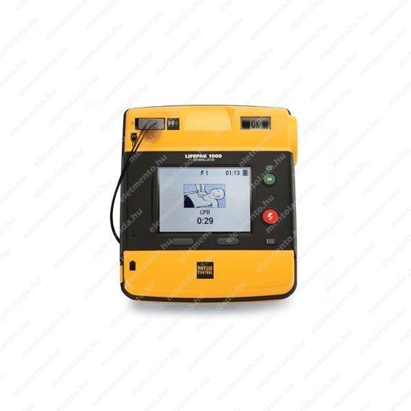 LIFEPAK 1000 félautomata defibrillátor EKG-val